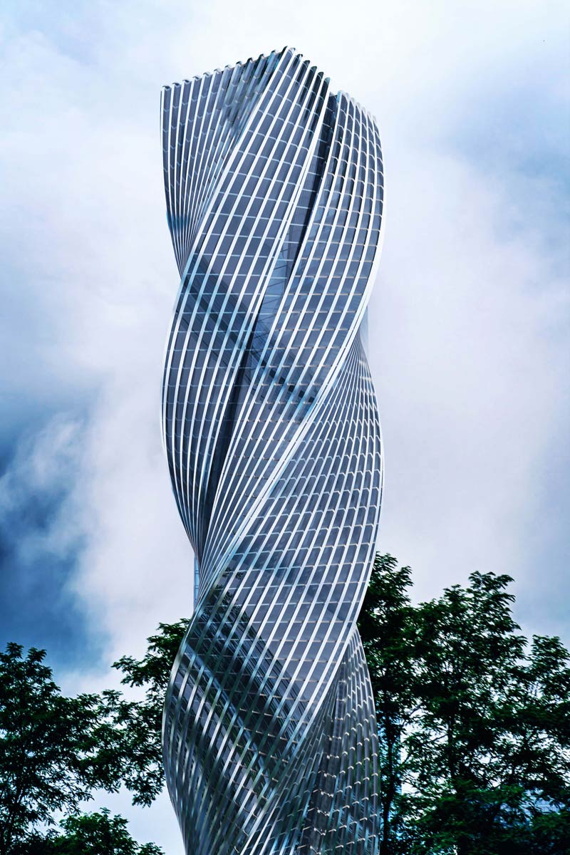World Tallest Twisted Building
