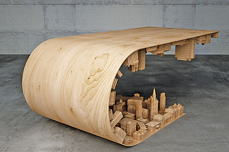 """To create conceptual art pieces that are functional furniture."""