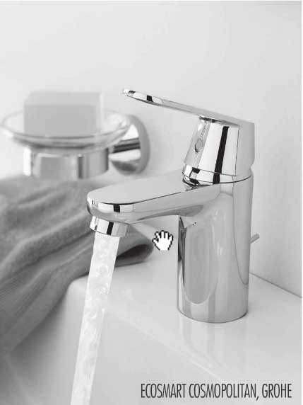 ROHE OndusDigital and GROHE F-digital faucets use the latest digital interfaces and technology to help you save water with programming Options to control flow rate, temperature and duration in faucets.
