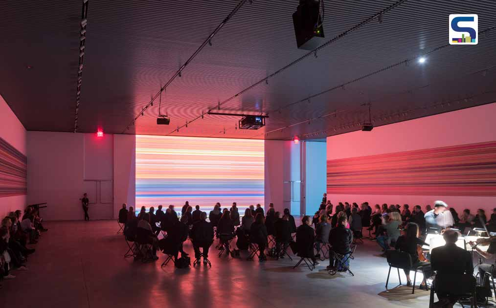 Reich Richter Pärt, immersive live performance installations exploring the shared language of visual art and music,