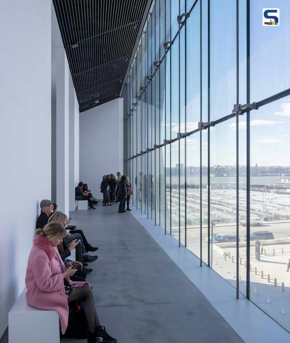 Level 4 Viewing Gallery, View towards Hudson Railyards