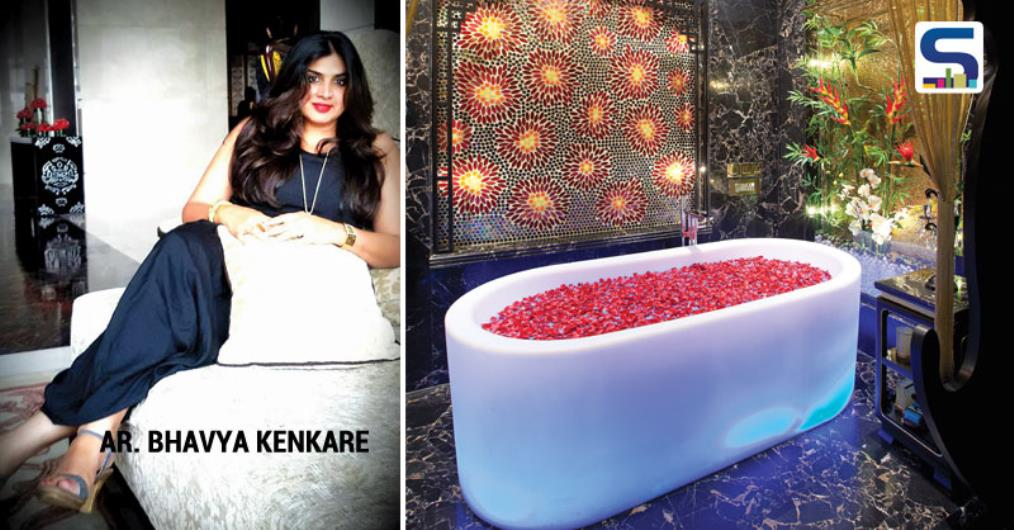 "Bhavya says, ""Since we were aiming at an exotic design value, we have imported specialized sanitary ware from Italian & Spanish designers like 'Antonio Lupi' & Roca'. The Buddha reigns supreme with a cutout of Buddha in Solid Surface Corian forming a grand entry to the 'SPA BATH'."