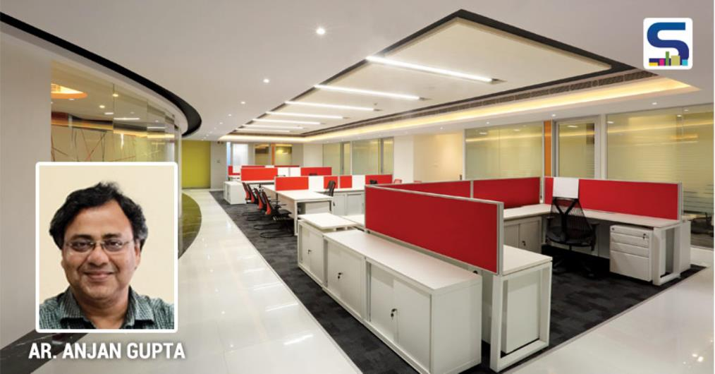 This office is for Indian Oil Petronas Pvt. Ltd., which is a joint venture between Indian Oil Corp. Ltd., India and Petronas, Malaysia. Initially the office was meant to be the eastern regional office for the client.