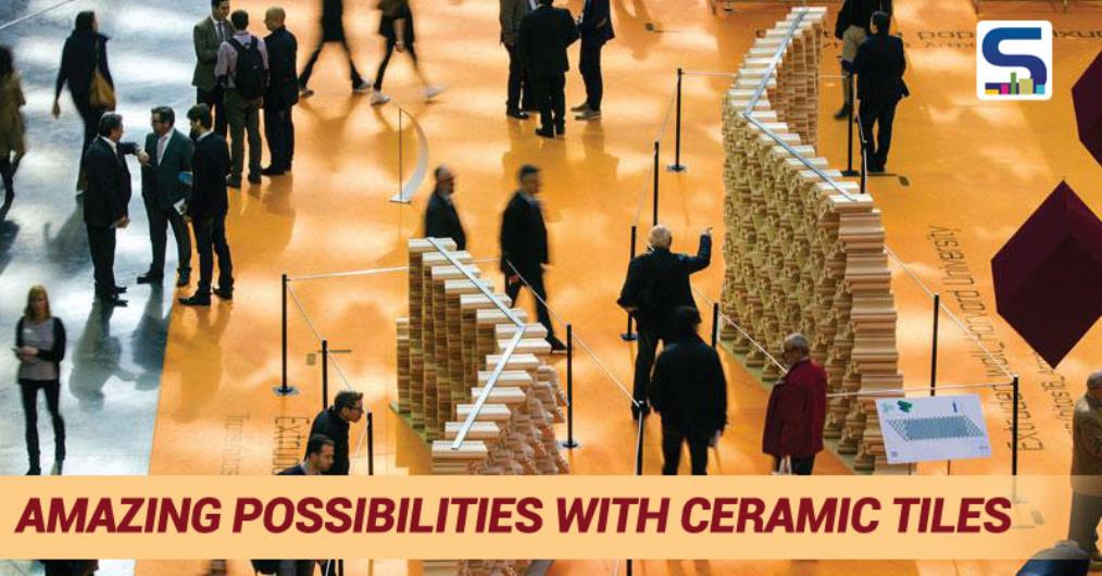 A team of students and researchers led by director Martin Bechthold of the Harvard University Graduate School of Design's (GSD) Material Processes and Systems Group developed the Tessellated wall in association with Cevisama which explores the design space of a novel ceramic tiles...
