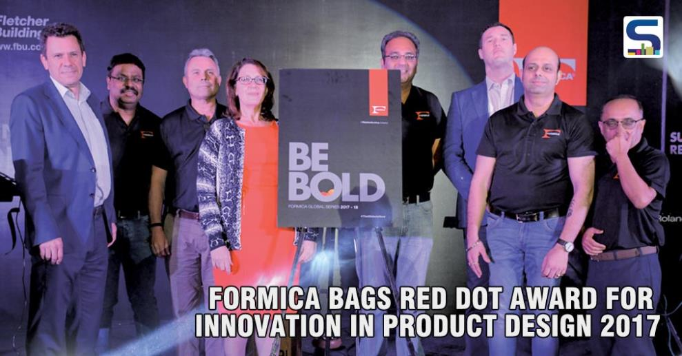 "Formica Group recently got awarded with the prestigious Red Dot award: ""Product Design"" for its innovative product called, Reclaimed Denim Fiber Laminate. The recognition from Red Dot is highly sought-after for recognizing outstanding designs and products."