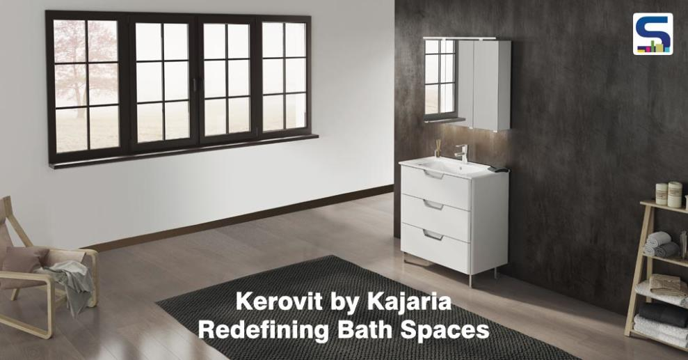 With a changing tide of sanitary-ware requirements in the country, India's No. 1 tile manufacturer, Kajaria has now entered the bathroom space with the launch of an exclusive range of faucet &sanitary-ware under the brand Kerovit, recently.