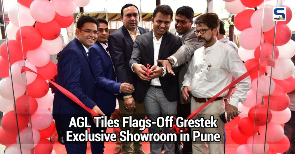 Asian Granito India Limited (AGIL), one of India's largest tiles companies recently inaugurated its exclusive Grestek series showroom in Pune.