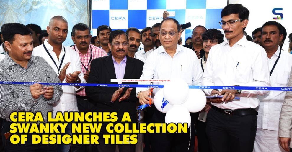 CERA Sanitary ware Ltd., one of the fastest growing home solutions providers in India, launched a new collection of exclusive designer tiles for floor and wall at an event held in Kadi, where its main manufacturing plants for sanitary ware and faucets are situated.