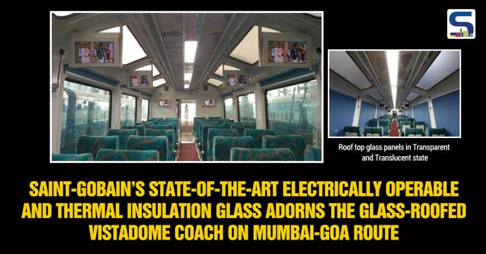 Enjoy the picturesque landscape of Western Ghats with the glass roofed Vistadome air-conditioned coach on the Jan Shatabdi Express running between Dadar and Madgaon on the Mumbai- Goa route.
