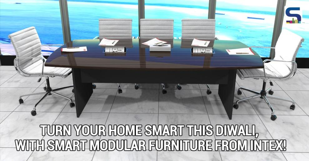 Forget just a 'smart' phone, this Diwali, Intex Technologies – a well-known name in mobile, T.V. and other electrical appliances/accessories –offers an assorted range of smart modular furniture to turn interiors into 'smart' interiors.