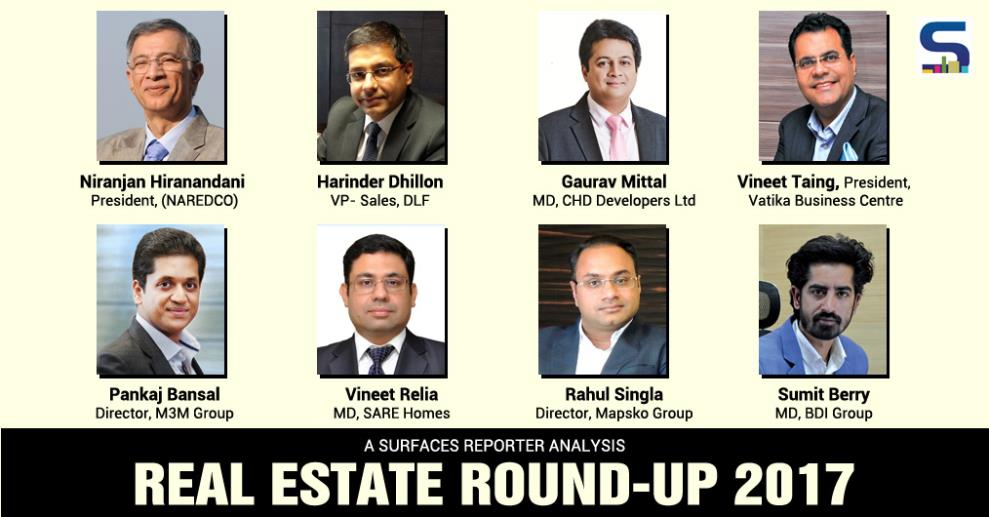 For a round-up on real estate, www.surfaces.in the online wing of Surfaces Reporter magazine India has collated the opinion of various stakeholders of the Indian real estate industry who have shared what they are looking for in 2018.
