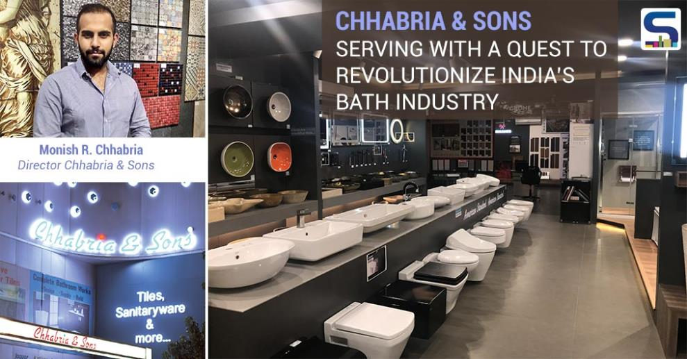 Chhabria & Sons The Complete Bathroom & Tiles Store is a name synonymous with Bathrooms since 1974. It is a retail company currently having 3 showrooms in Bangalore & aiming to have more outlets around South India in future.