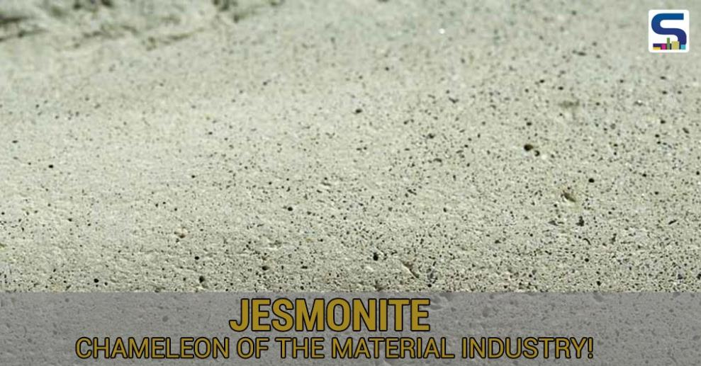 Jesmonite is one of the most innovative materials and a natural resin composite made of two types of raw materials - pure alpha gypsum base and aluminate composite base.