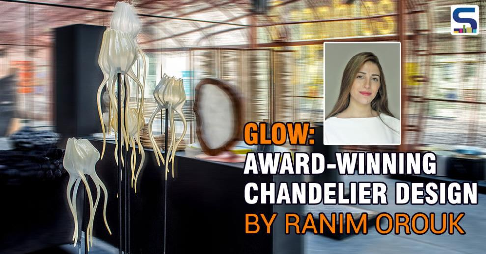 Ranim Orouk is an architect who has a passion for art & design. Orouk was awarded The Middle East Emergent Designer Prize in 2016, for her Glow chandelier.