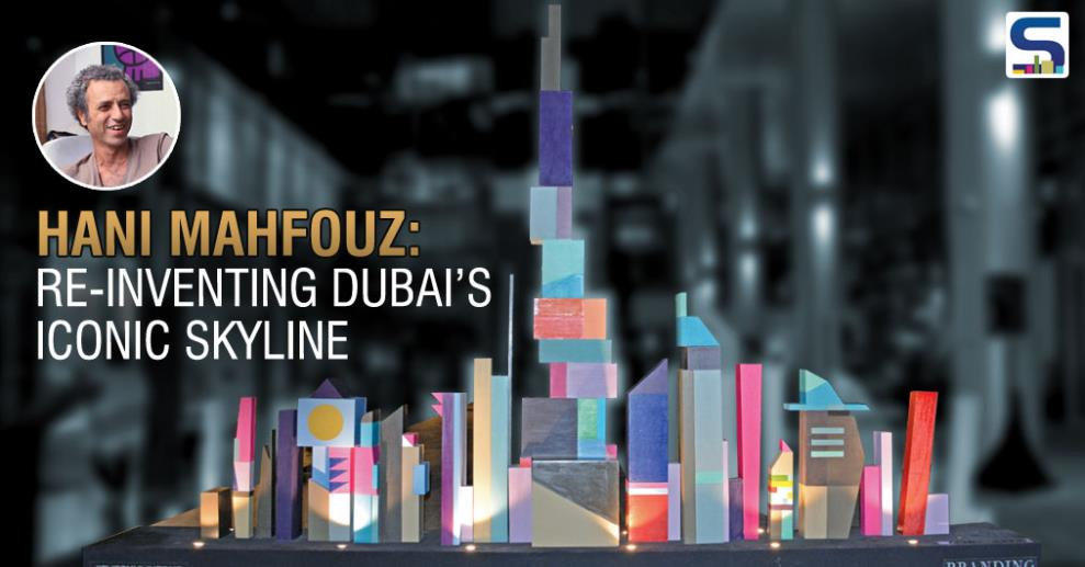 Dubai, a modern cosmopolitan, has the entire world enthralled with its city structure's design and beauty. This fascination with the design of the city is the inspiration behind Hani Mahfouz's installation which will be on display d3, titled 'The Skyline'.