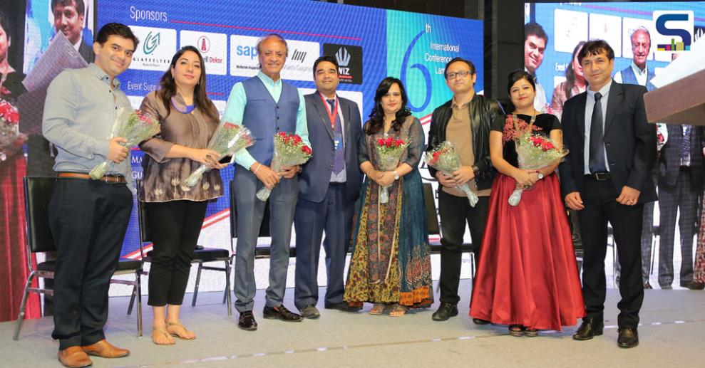 Ar. Prem Nath, Ar. Swanzal Kak Kapoor, ID Payal Kapoor, Ar. Gaurav Kharkar, Paul Sandip and Vertica Dvivedi Indian Laminate Manufacturers Association organised their 6th International conference on laminates & allied industry on 5-6 March, 2018.