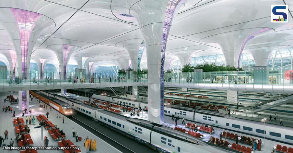 India's top architectural firm belonging to Hafeez Contractor has offered to design a few stations in a joint venture with government's upcoming schemes.