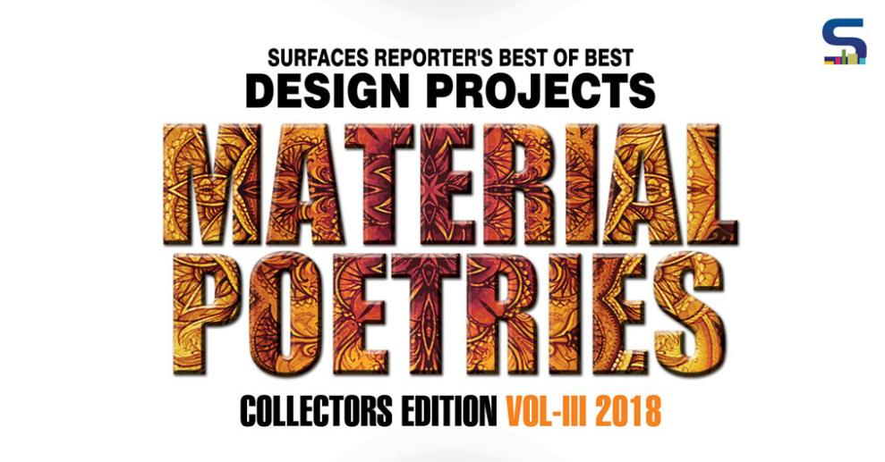 The 3rdedition of #SRMaterialPoetries features more than 30 best-of-the-best projects/artworks/designs by the veteran designers, rising architects and budding ones.
