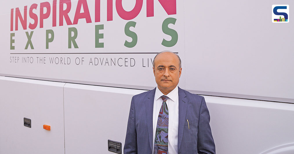 An exclusive interview with Mr. Ajay Khurana, the Chairman of REHAU South Asia, on REHAU Inspiration Express.