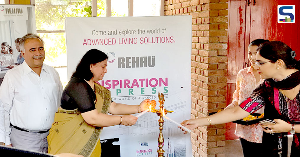REHAU India gave students, consumers and architects of Chandigarh a lesson or two in contemporary architecture recently, when it reached the city with their newly launched promotional concept, a unique mobile showcase 'bus' – called, REHAU Inspiration Express