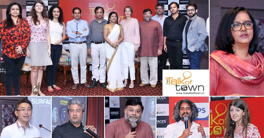 The eminent architects and designers from the city gathered today in the Talk of Town event at The Surya Hotel, New Delhi. The Talk of Town is a neatly designed conference aimed to connect, engage and expand the circle of architects, artists, and designers.