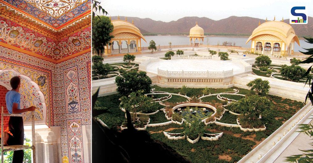 """It took 9 years for completion of the project, it started in the year 2005 by signing of an agreement between public and private sectors. And after 9 years, in year 2014 finally reinvention of Jal Mahal ended, and certainly with positive results."