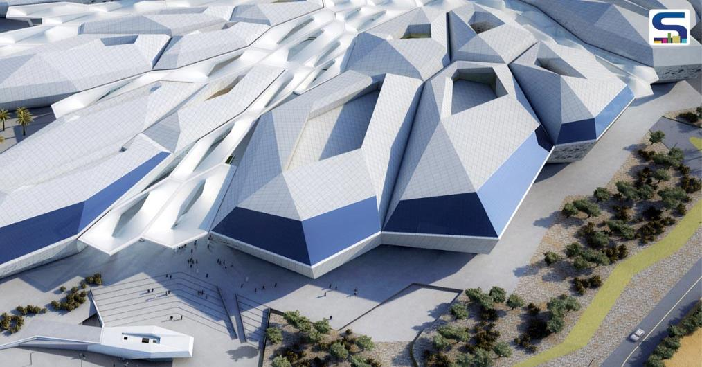 In the Saudi Arabian capital Riyadh, honeycomb-shaped King Abdullah Petroleum Studies and Research Center (KAPSARC) has been now opened to the public.