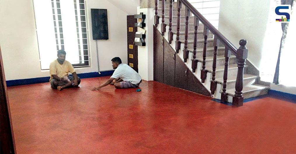 Red oxide, Black oxide and other color oxide flooring, unique to Kerala, is back in flavor after falling from grace in the seventies.