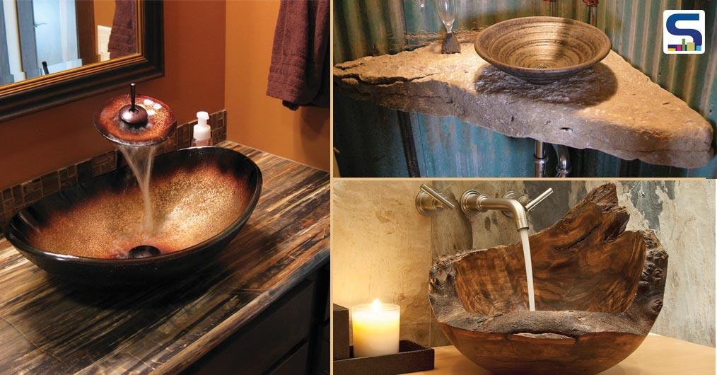 In the bath area, one place that really calls for creativity is wash basin. Its one area where the element of art can be skillfully added and this simple art of creativity can really turn a bathroom into an artistic space.
