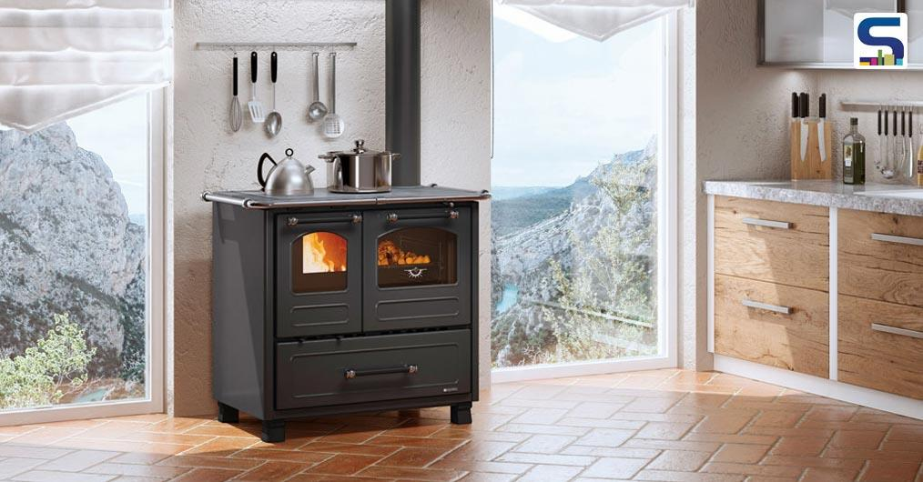 La Nordica Extraflame brings forward new product- evolution line under the new Top of the Range product line. Originated in 1968, La Nordica has carefully designed a functional item along with a charming design