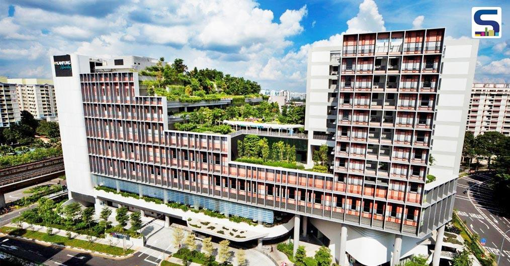Kampung Admiralty by WOHA is billed as the first integrated public building in Singapore that brings together a mix of public facilities and services under one roof.