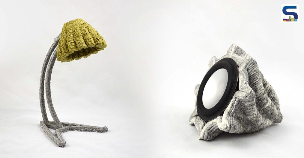 Dutch designer Beer Holthuis developed a 3D printer that uses paper waste instead of plastic.