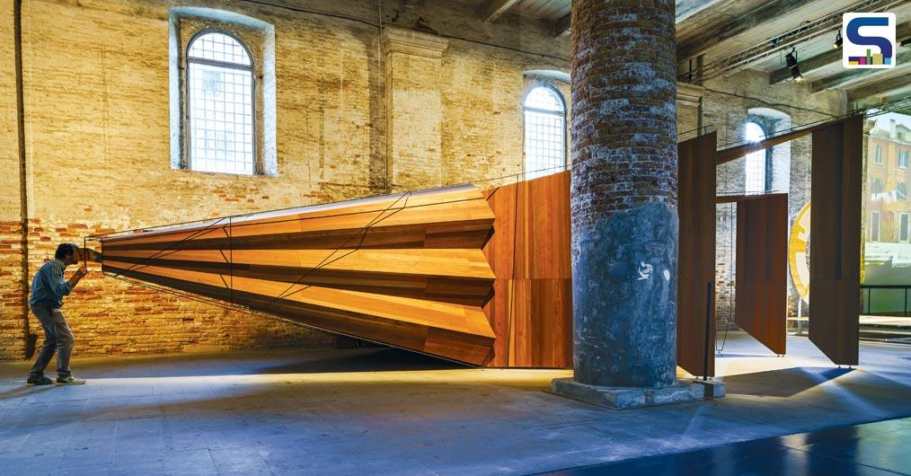 Surfaces Reporter is glad to present the 10 most impressive installations from the recently concluded Biennale.