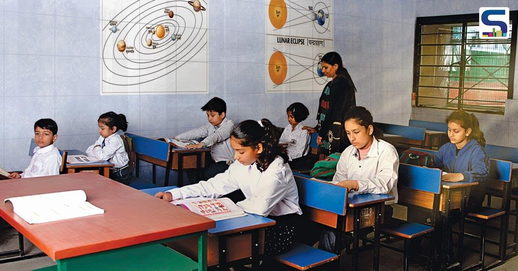 With a deep understanding of the ever-growing need for quality education in our country Orient Bell Limited, one of the largest manufacturers of ceramic and vitrified tiles in the country has innovated educational tiles.