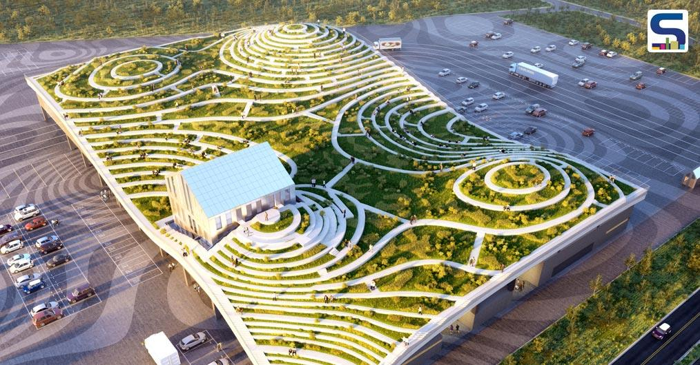 Rotterdam, Netherlands-based architecture and urban design firm- MVRDV- with local studio LLJ Architects- is planning to design a giant wholesale market for fruit and vegetables in the foothills of Tainan, Taiwan.
