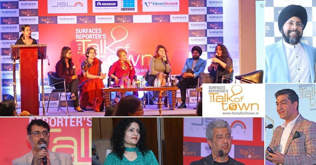 The 8th edition of the Talk of Town series was successfully completed at Crowne Plaza, Okhla, New Delhi on 16 March 2019. Various eminent architects, designers and industry experts from the city attended the event and shared their valuable thoughts, ideas and experiences.