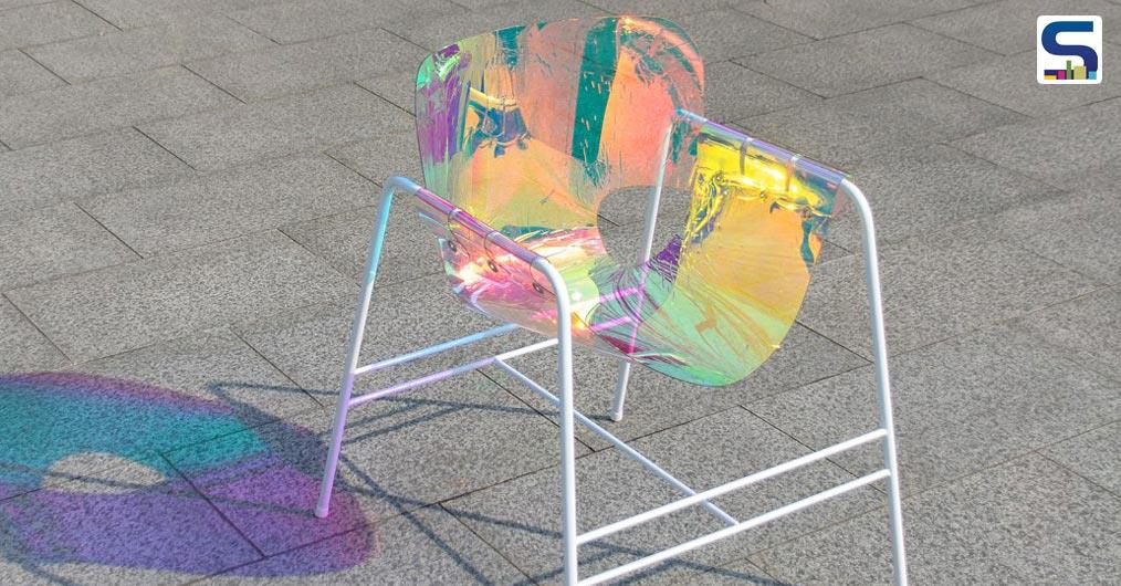 A mesmerizing piece of furniture- 'The Light Chair'- from Industrial designer Taehwan Kim is an epitome of Iridescence.