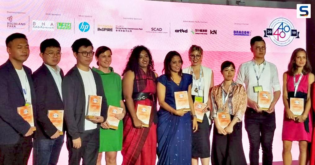 Hong Kong, 28th May 2019: Pankhuri Goel and Asha Sairam – Design Principals at New Delhi based multi-disciplinary design firm, Studio Lotus – were felicitated at the Perspective 40 under 40 Awards 2019 (Hong Kong) in the Interior Design Category.