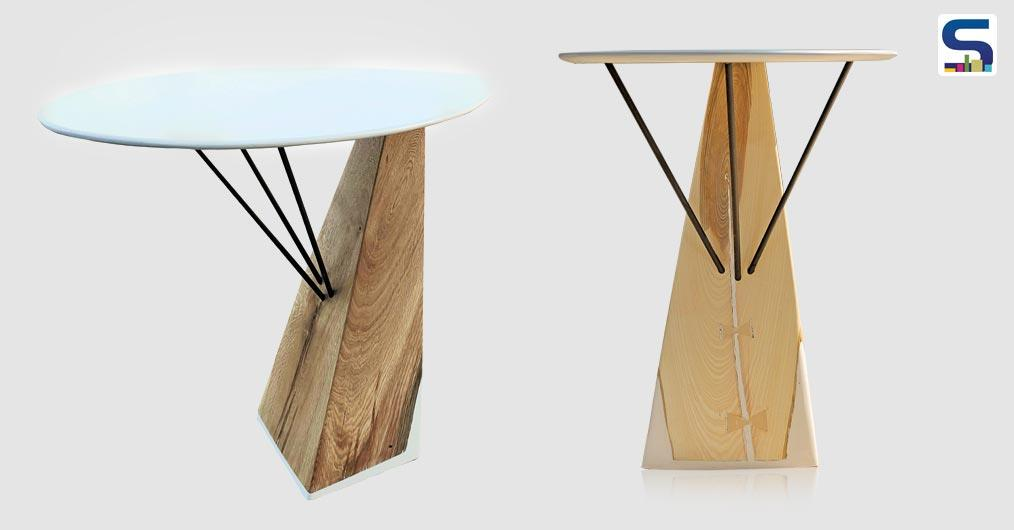 Fungo is a table that enhances the beauty of wood and the harmony of simple forms.