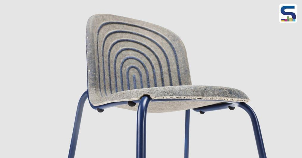 Chair with a biological seat pan by Philipp Hainke