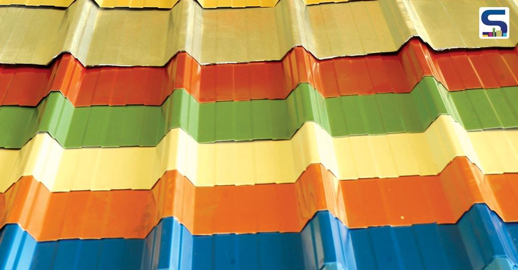 Colour Coated Steel A Crucial Innovation In Steel In Construction