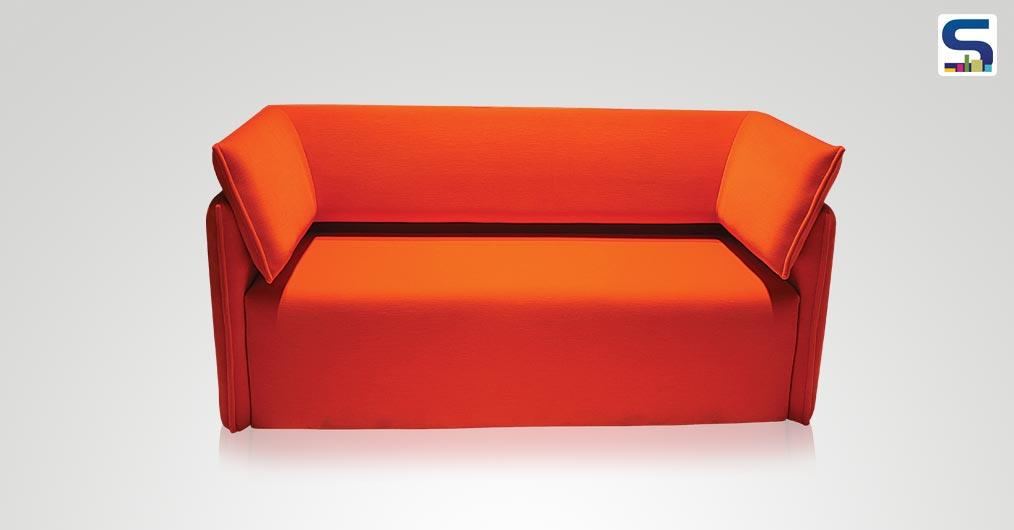 This Lavish red-orange coloured seating is a retreat to the eyes of many and as comfortable as it looks like!