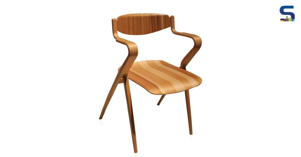 Chair out of Moulded Plywood