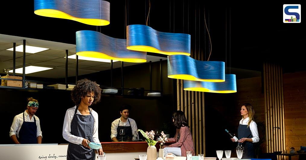 Free Flowing Pendant Light by Ray Power