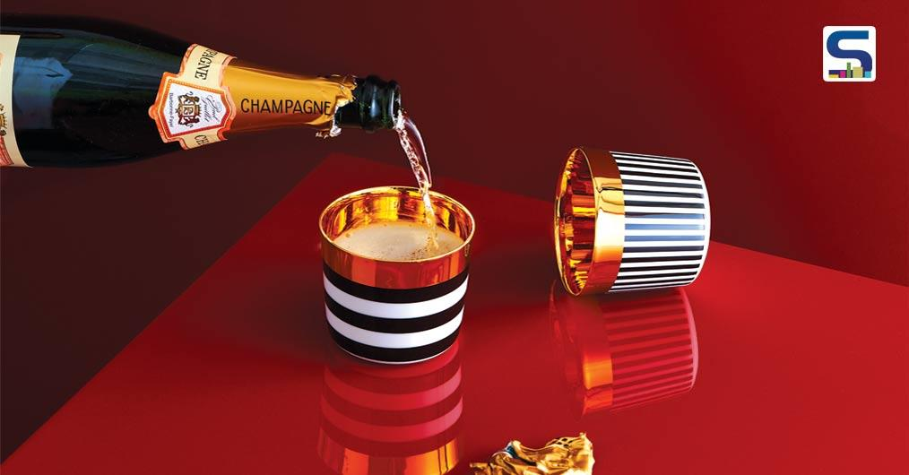 A Glamorous Collection of Champagne Goblets by Furstenberg
