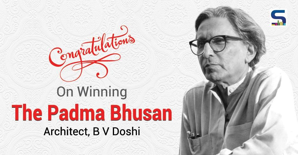 Legendary Architect B. V. Doshi