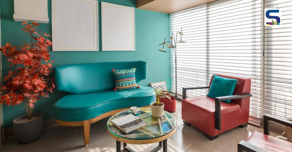 Kapil Aggarwal Creates A Colourful and Playful Abode