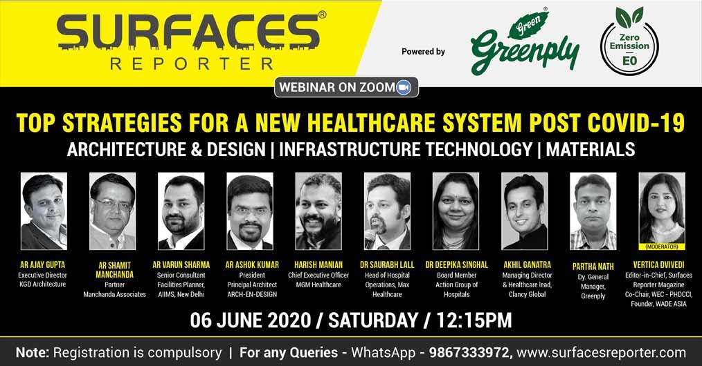 opportunities in HEALTHCARE sector for ARCHITECTS, DESIGNERS
