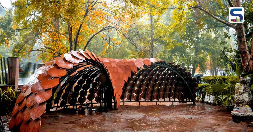 The 'Pangolin Pavilion' designed by Ant Studio at the 'OneistoX' workshop, required an ideology that would go beyond the generic norms of design and re-invent the concept of Parametricism but with a social cause.