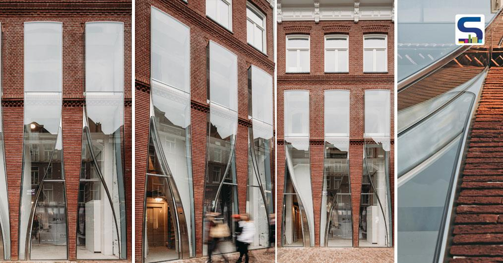 The Looking Facade of the P.C. Hooftstraat by UNStudio